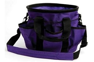 Roma Grooming Carry Bag: Purple