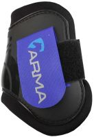 Arma Fetlock Boots Black/Royal Blue