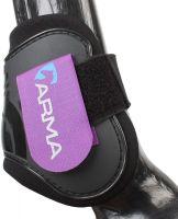 Arma Fetlock Boots Purple