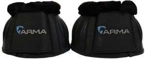 Arma Fleece Topped Over Reach Boot Black