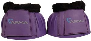 Arma Fleece Topped Over Reach Boot Purple