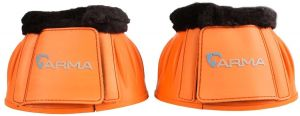 Arma Fleece Topped Over Reach Boots Orange