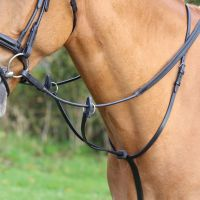 Aviemore Running Martingale Black
