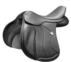 Bates All Purpose Square Cantle + Saddle Black