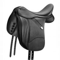 Bates Dressage+ with Luxe Leather Saddle Black