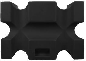 Classic Showjumps Parallel Jump Block Black