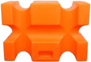 Classic Showjumps Parallel Jump Block Orange