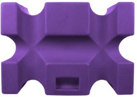 Classic Showjumps Parallel Jump Block Purple