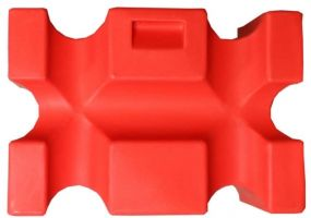 Classic Showjumps Parallel Jump Block Red