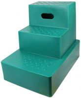 Classic Showjumps Standard 3 Step Mounting Block Forest Green