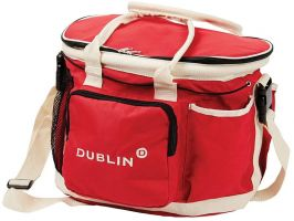 Dublin Imperial Grooming Bag Red/Cream