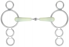 EquiKind Three Ring Jointed Dutch Gag