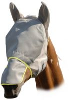 Equilibrium Field Relief Fly Mask Max Grey/Yellow