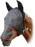 Equilibrium Field Relief Max Fly Mask With Ears Black