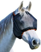 Equilibrium Field Relief Midi Fly Mask No Ears Black/Orange