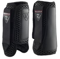 Equilibrium Tri-Zone Impact Sports Boots Front Black