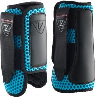 Equilibrium Tri-Zone Impact Sports Boots Front Blue