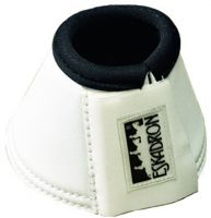 Eskadron Synthetic Leather Bell Boots White