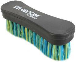 Ezi-Groom Shape Up Face Brush Blue/Yellow