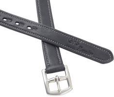 GFS Premier Stirrup Leathers Black
