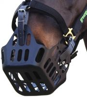 Greenguard Grazing Muzzle Black
