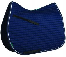 Griffin Nuumed High Wither General Purpose Saddle Pad Navy