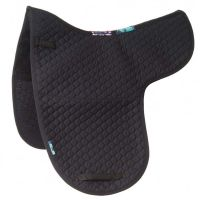 Griffin NuuMed HiWither Half Lined Wool Dressage Numnah Black
