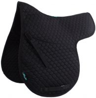 Griffin NuuMed Hiwither Half Lined Wool GP Numnah Black