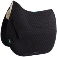 Griffin NuuMed HiWither Half Lined Wool GP Saddle Pad Black