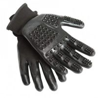 HandsOn Grooming Glove Black