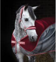 Horseware Airmesh Headcollar Redwood/Summerberry