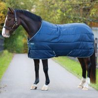 Horseware Amigo 100g Lite Weight Standard Neck Insulator Navy/White