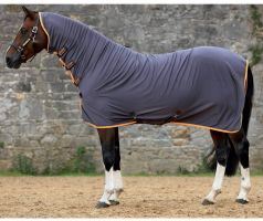 Horseware Amigo All in One Jersey Cooler Excalibur/Orange