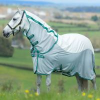 Horseware Amigo Aussie Airflow Fly Rug White/Purple/Mint