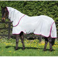 Horseware Amigo Bug Rug Fly Rug Silver/Purple
