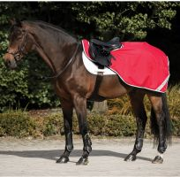 Horseware Amigo Competition Sheet Red/White/Green/Black