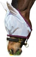 Horseware Amigo Finemesh Flymask Silver/Purple