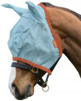 Horseware Amigo Fly Mask Aqua/Orange
