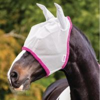 Horseware Amigo Fly Mask Silver/Purple