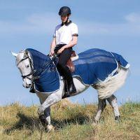 Horseware Amigo Flyrider Navy/Silver