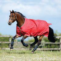 Horseware Amigo Hero 6 50g Lite Turnout Rug Red White Green Black