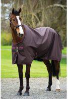 Horseware Amigo Hero 6 50g Lite Weight Standard Neck Turnout Rug Chocolate/Raspberry