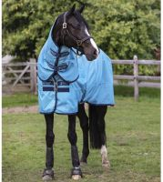 Horseware Amigo Hero Ripstop Plus Lite 100g Lightweight Turnout Rug Delphinium Blue/Navy