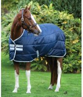 Horseware Amigo Insulator 200g Medium Weight Standard Neck Stable Rug Navy/Silver