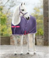 Horseware Amigo Pony Jersey Cooler Grape/Pink/White/Powder Blue