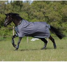 Horseware Amigo Super Hero 12 0g Lite Turnout Rug Excalibur Blue