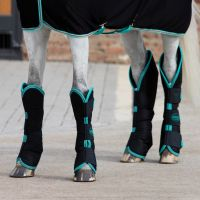 Horseware Amigo Travel Boots Black/Teal/Dark Cherry