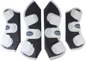 Horseware Amigo Travel Boots Navy/Silver