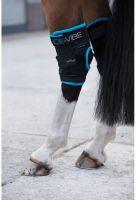 Horseware Ice-Vibe Hock Boots Black Aqua