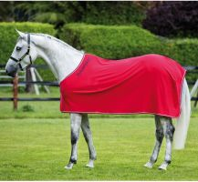 Horseware Rambo Cotton Cooler Red/Grey